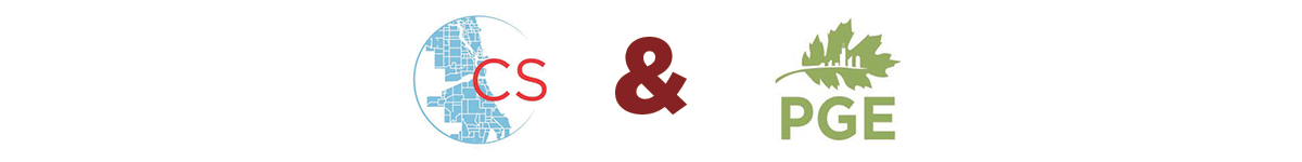 Chicago Studies Program and Program on the Global Environment logos
