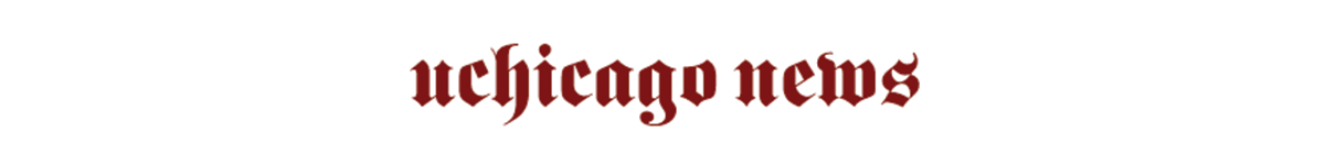 UChicago News logo in maroon