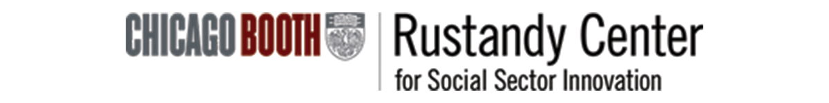 Logo of the Rustandy Center for Social Sector Innovation
