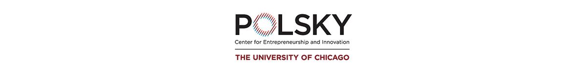 Logo for the Polsky Center for Entrepreneurship and Innovation