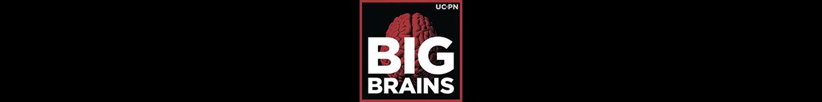 Logo for Big Brains podcast
