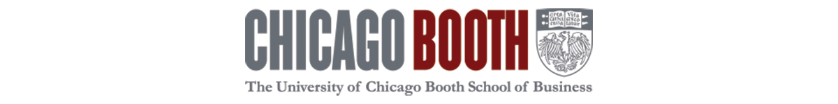 Logo for the Chicago Booth School of Business