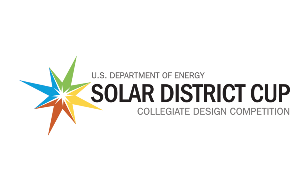 Logo for the U.S. solar district cup