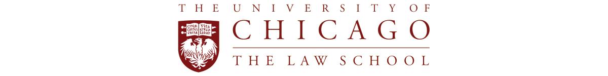 Logo for the UChicago Law School