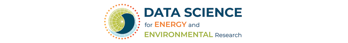Logo for the data science bootcamps offered by RDCEP