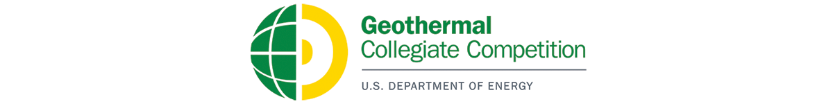 Logo for the US DOE Geothermal Collegiate Competition