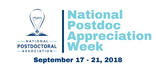National Postdoc Appreciation Week 2018