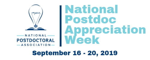 National Postdoc Appreciation Week 2019!