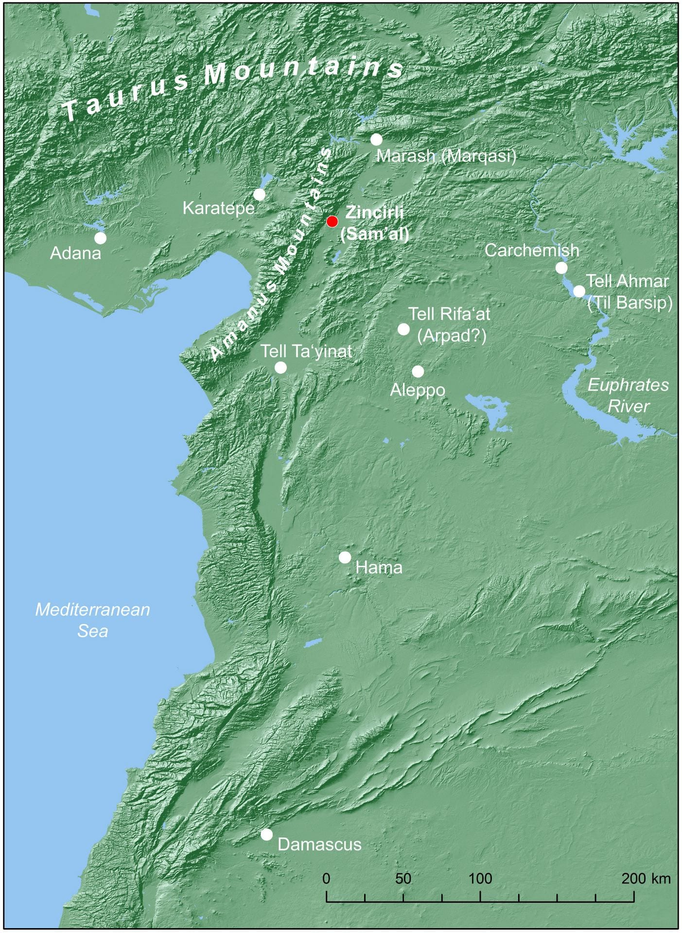 Picture of: Site And Setting Chicago Tubingen Expedition To Zincirli