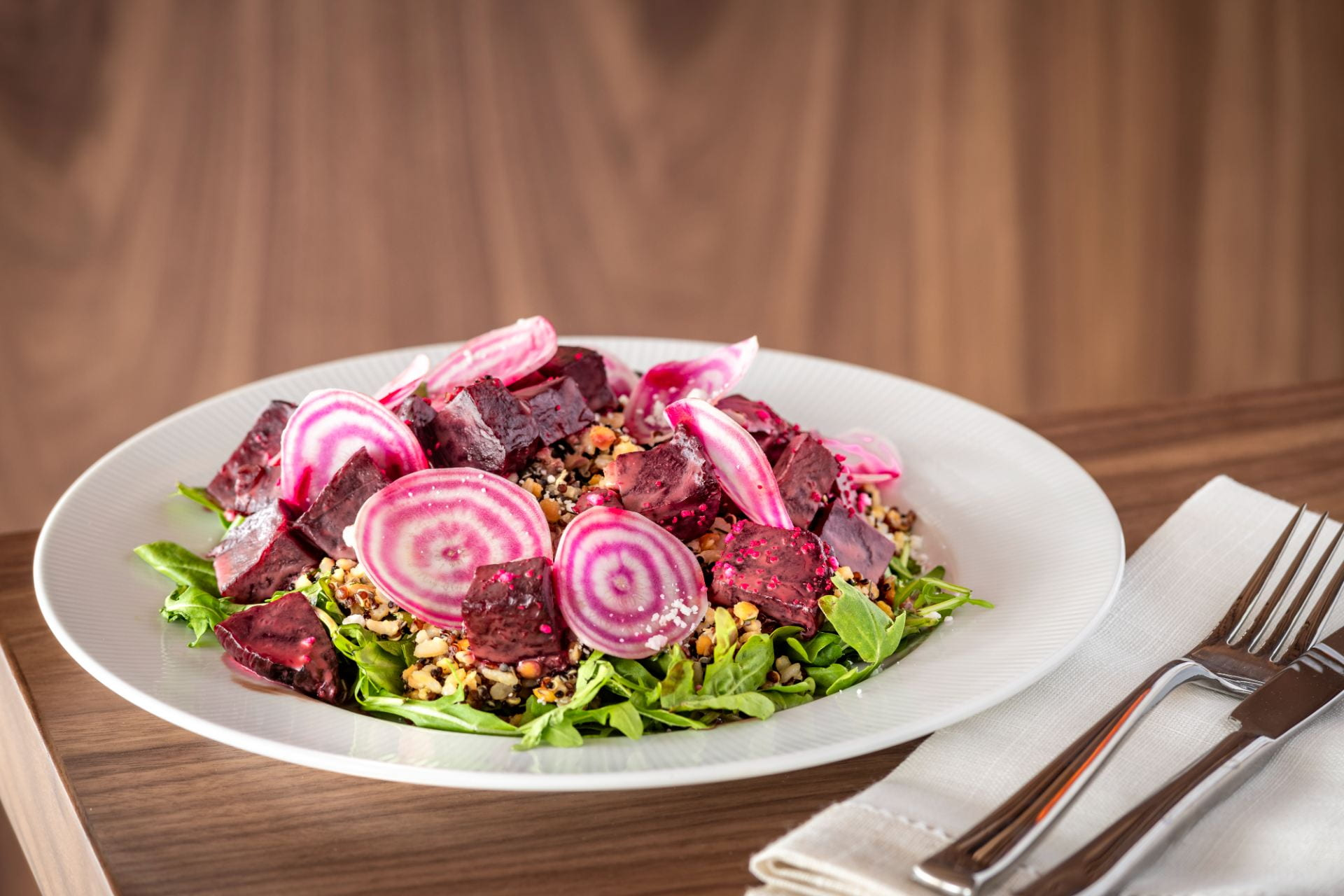 Candy Stripe Beet Salad