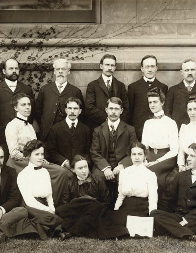 Zoology Faculty and Students 1901