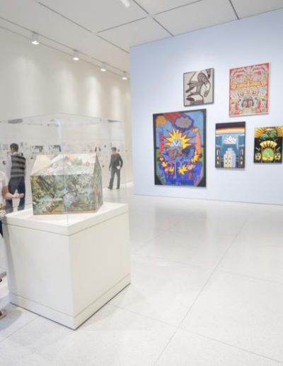 Interior shot of a Smart Museum gallery
