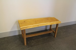 Live Edge Bench by Allie Dudley