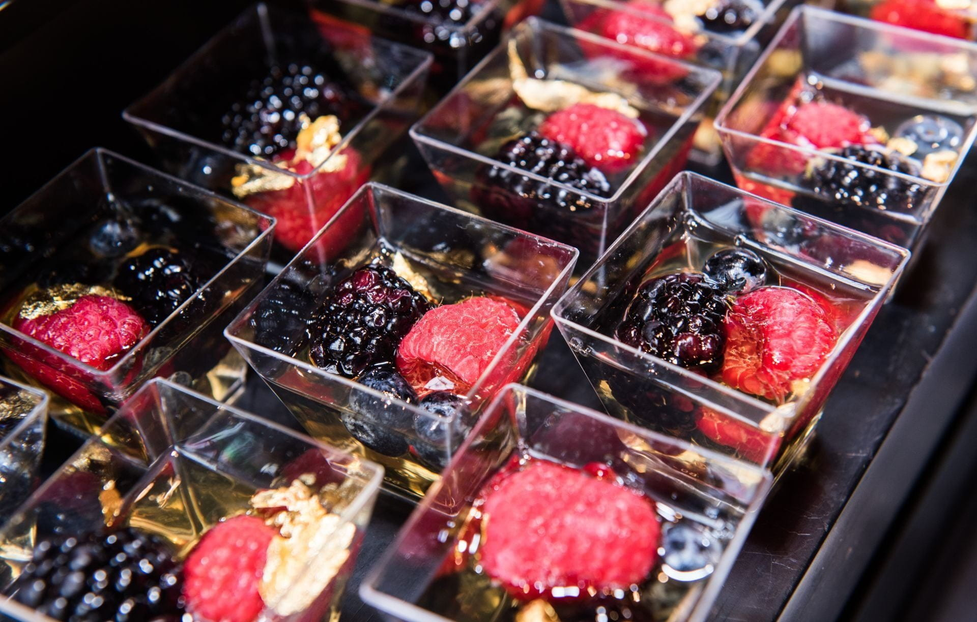 Berry Dessert from Catering Event