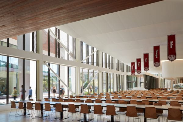 Baker Dining Commons House Tables