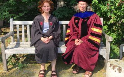 Ruby graduates!