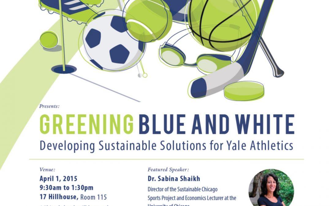 Yale University Bulldog Sustainability