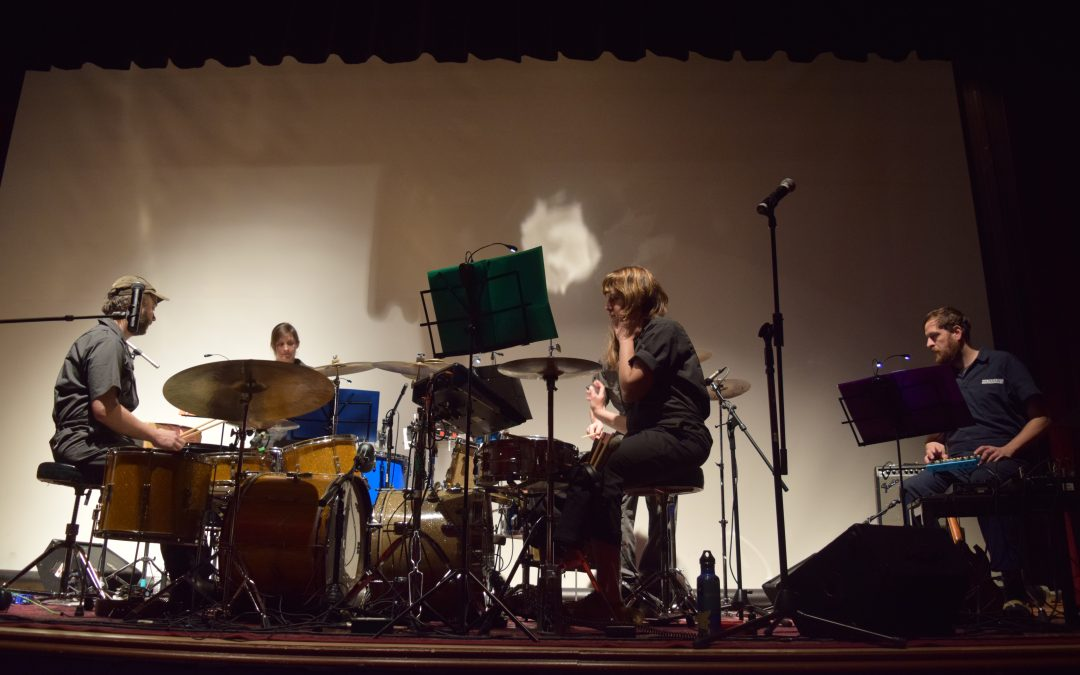 Documenting Ecosystems: Student Environmental Showcase, Lisa Schonberg, and the Secret Drum Band