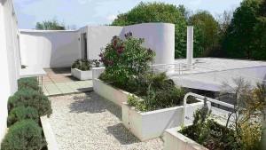 Villa Savoye Location: Poissy, Paris, France Architect: Le Corbusier Photo by: End User