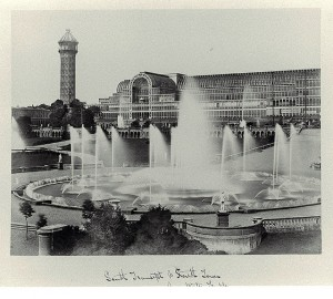 Figure 1: The Crystal Palace. Architect: Joseph Paxton. Location: Hyde Park, London, England (Building destroyed 1936). Photo credit: Philip Henry Delamotte, 1854. Source: Smithsonian Institution Libraries
