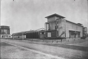 Figure 2: Factory Administration Building. Architect: Walter Gropius. Location: Cologne, Germany. Photo Credit: Unknown Photographer, 1914. Source: Harvard Art Museums