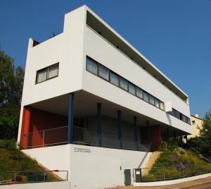 Figure 3: Haus Le Corbusier. Architect: Le Corbusier. Location: Stuttgart, Germany. Photo Credit: Rob Deutscher, 2012.