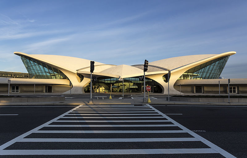 Airlines Terminal Building New York