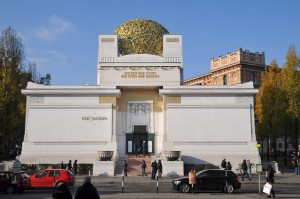 Secession Exhibition Building, Joseph Maria Olbrich, 1897-8, Vienna, Austria. Source: wikipedia commons. Credit: Böhringer Friedrich