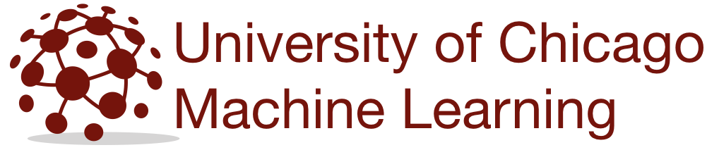 Machine Learning @ UChicago