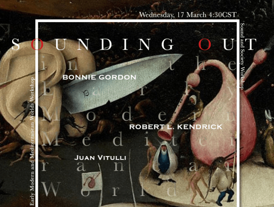 """""""Sounding Out"""" in Early Modern Mediterranean Worlds"""