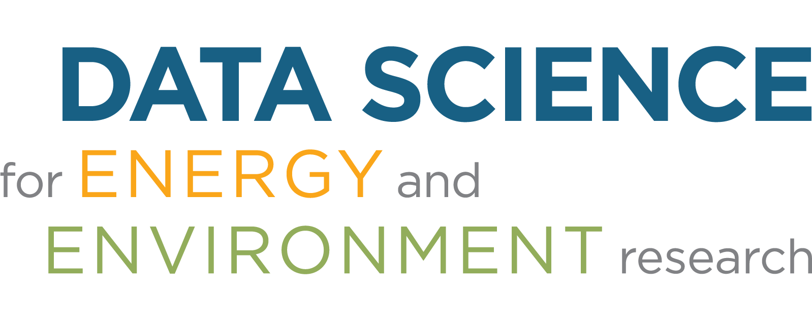 Data Science for Energy and Environment