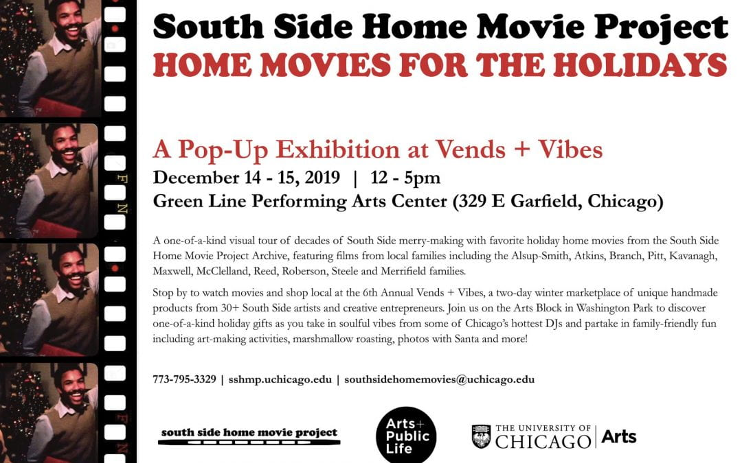 Dec 14-15: Home Movies for the Holidays: Pop-Up Exhibition at Vends + Vibes