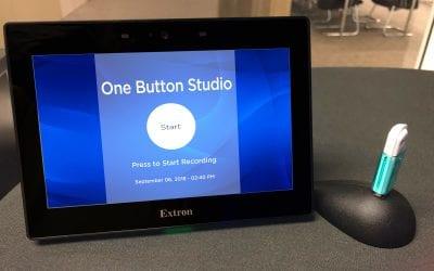 One Button Studio Launching Fall Quarter 2018