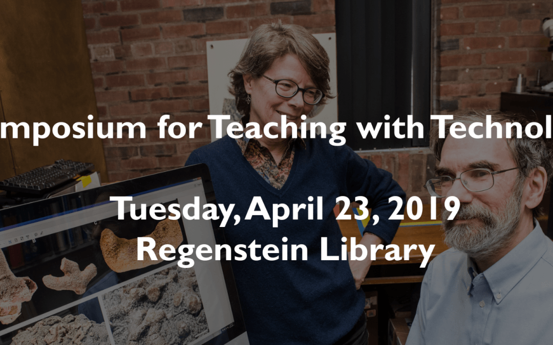 The Symposium for Teaching with Technology Is Coming April 23 – Save the Date!