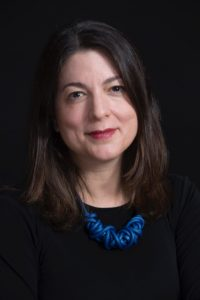 A headshot of Liz Siegel, curator at the Art Institute