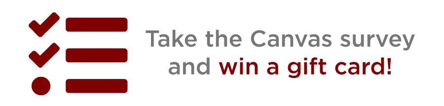 Take the Canvas Survey!