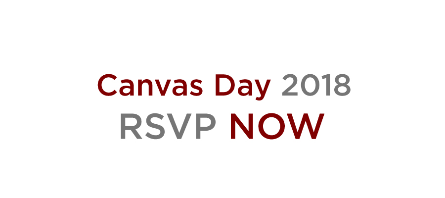 RSVP for Canvas Day 2018!