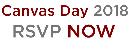 RSVP for Canvas Day