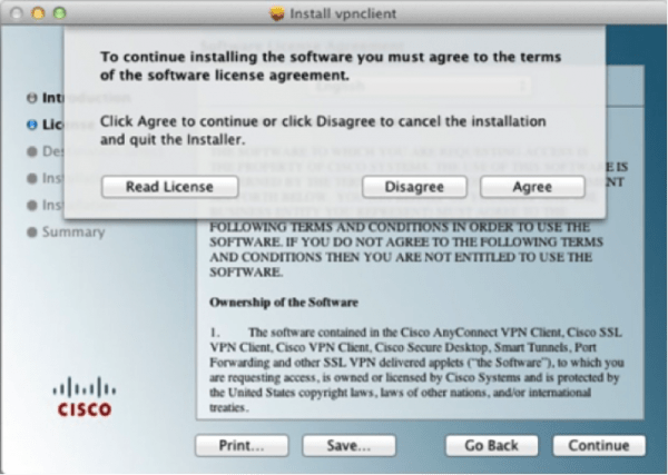 Screen Capture of install step number 6.2
