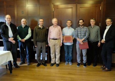 N. Nygaard, M. Foote, R. Fefferman, P. Mykland, D. Chen, M. Barnett, L. Hansen, P. Veronesi