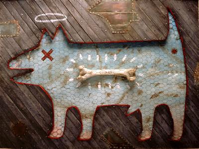 Deceased Dog/ Bone