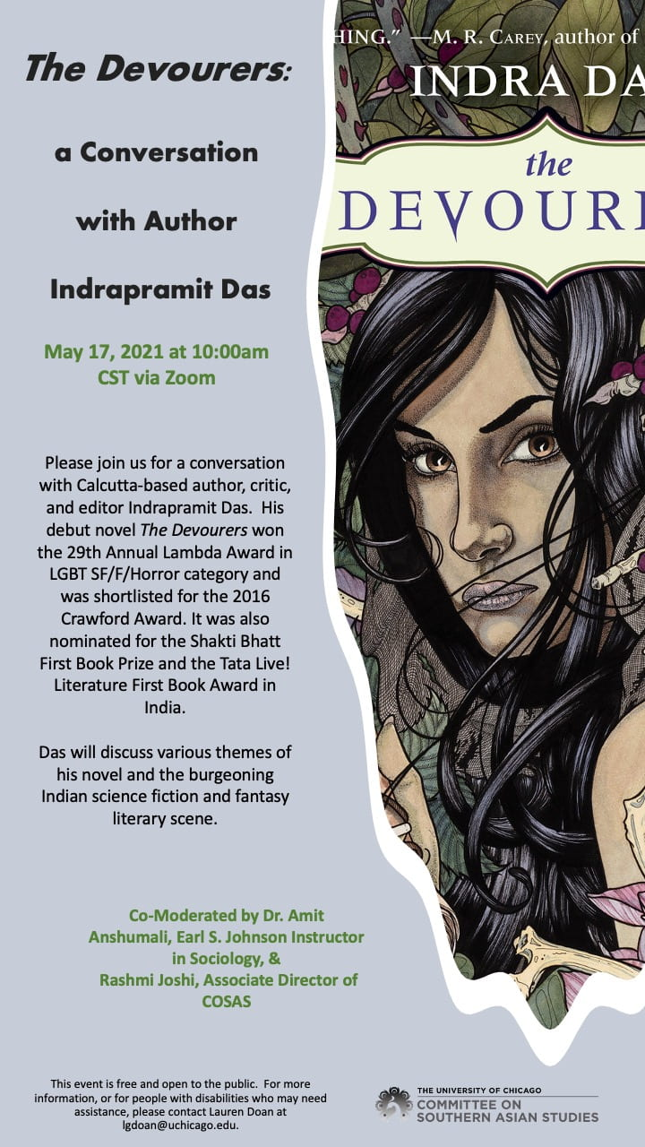 image of the Indra Das event