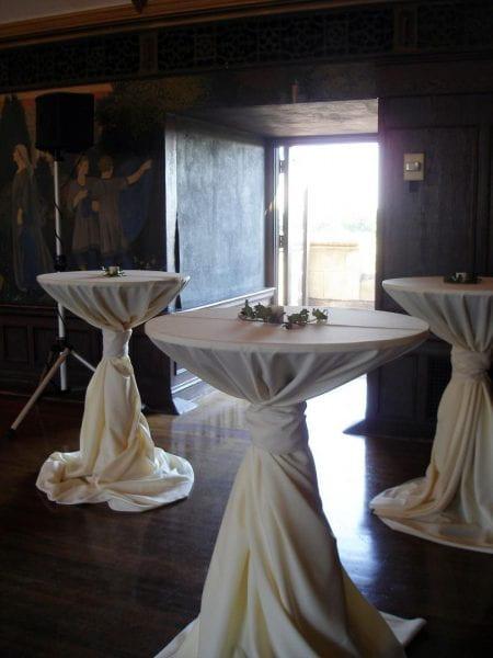 Photo of Stand-up Reception at Ida Noyes Hall