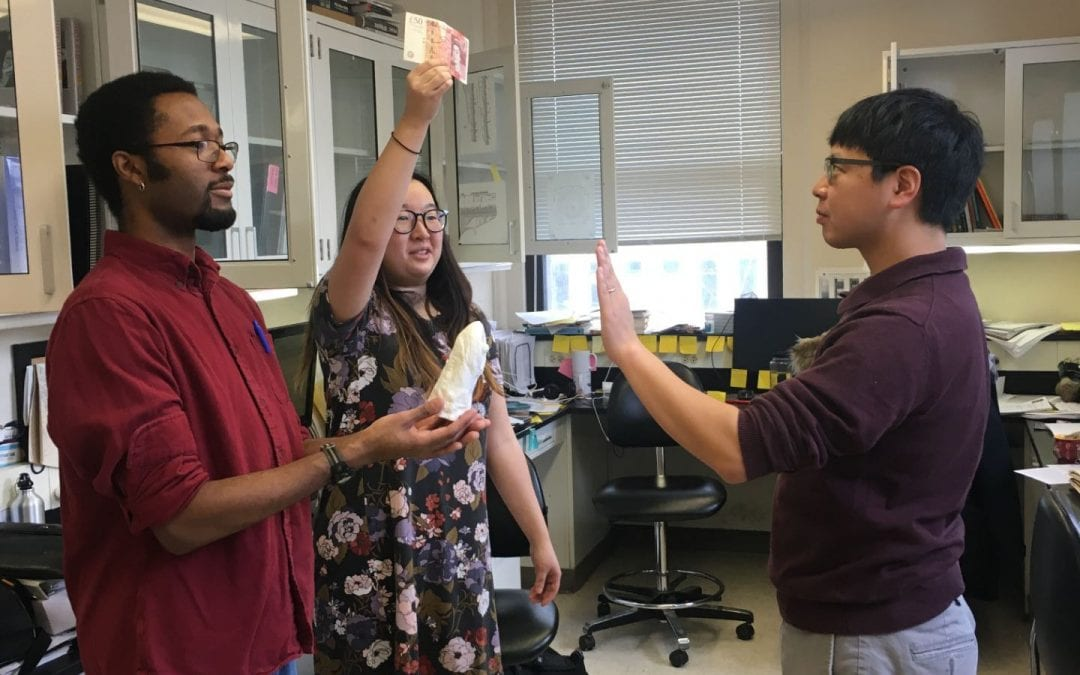Hagfish-in-training Tetsuto Miyashita sworn into lab