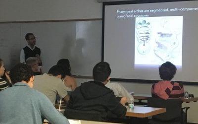 Vish gives Dev Bio Journal Club talk!