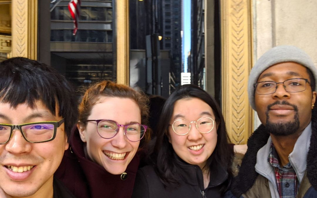 Coates Lab goes to the Lyric Opera!
