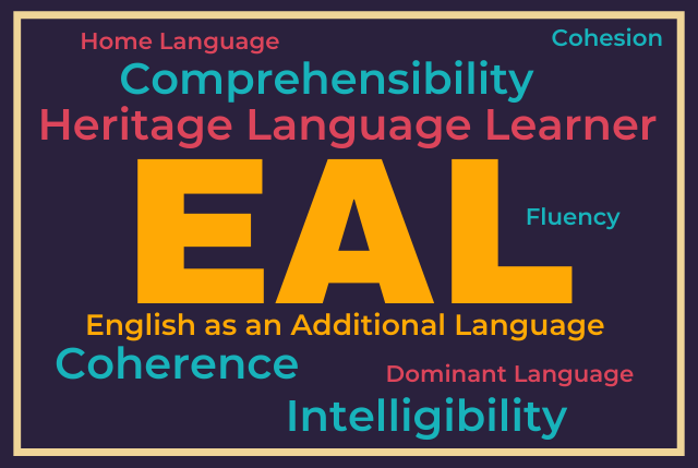 ESL vs EAL: What's in a name?