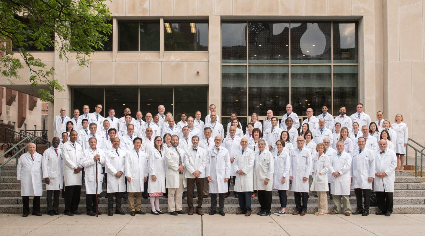 Department of Surgery group photo