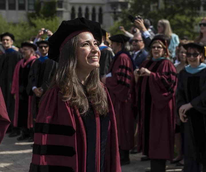 Paulina Rincon Delgadillo graduating