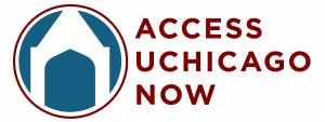 Access UChicago Now Logo